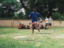 Unitat de Truc al campaments a Diatock (Senegal) dins el programa d'educació en el lleure impulsat per l'Ajuntament de Vic. Estiu 2019
