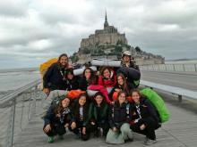 Les Truc a Le Mont Saint Michel (França), ruta 2017