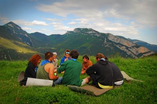 muntanya, excursió, natura, truc, rotllana, aeig sant narcís, prat, màrfega