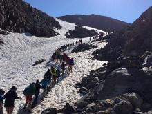 muntanya, excursió, natura aeig mestre guell, neu, ruta, paisatge