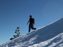 muntanya, excursió, natura, aeig comte jofre, neu, hivern, ruta