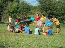 calor, aigua, joc, campaments, aeig xaloc