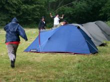 campaments, natura, tenda